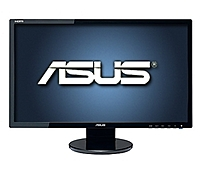 Asus Ve Series Ve248h 24-inch Lcd Monitor - 1920 X 1080 - 10000000:1 - 250 Nit - 2 Ms - Hdmi/dvi, Vga - Black