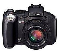 Canon Powershot 2077B001 S5 IS 8 Megapixels Digital Camera - 12x Optical Zoom/4x Digital Zoom - 3264 x 2448 - 32 MB