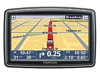TomTom 1EP0.019.03 XXL 550T 5-inch Widescreen Portable Automobile Navigator