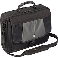 The Targus Blacktop 17 inch Deluxe Laptop Case with Dome Protection offers unique style in a highly functional case