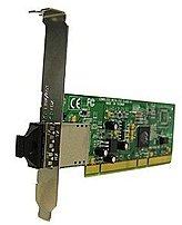 The Gigabit Ethernet NIC provides a 1000BASE SX fiber port, delivering fiber optic connectivity to the desktop for fiber rich LAN environments