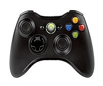 Microsoft NSF-00001 Wireless Controller for Xbox 360 - Black