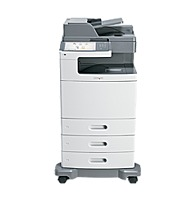 Lexmark 47B1001 X792dte Color Laser All-in-One Printer - 50 ppm(mono)/50 ppm (color) - 2400 x 600 dpi - 75 Sheets - 33.6 Kbps - Hi-Speed USB