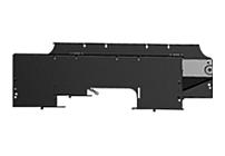 APC AR8561 Cable Management Trough for APC NetShelter SX 600 mm Wide Enclosure - Black