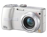 A compact camera with 10x optical zoom lens
