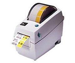 Zebra LP 2800 282P-201511-000 LP 2824 Plus B/W Direct Thermal Printer - 203 dpi - 4 inches/second - Ethernet, USB - 220, 110V AC