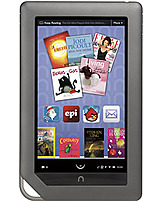Enjoy your digital books, magazines and newspapers in color with Barnes   Noble NOOK BNRV200 Color eReader that features a 7 inch color touch screen display with VividView technology for more than 16 million colors and a wide viewing angle for easy readability.