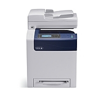 Xerox WorkCentre 6505/N Multifunction Laser Printer - 24 ppm - 600 x 600 dpi - AC 120V - Hi-Speed USB, Ethernet 10 Base-T/100 Base-TX/1000 Base-T