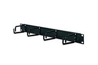 APC AR8425A 1U Horizontal Cable Organizer for NetShelter EP, ES, VS, VX and WX- Black