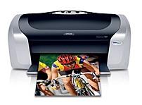Epson Stylus C88+ Inkjet Printer Black/Silver Stylus C88 C11C617121