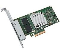 Intel E1G44HTBLK I340 4-Ports Network Adapter - PCI Express 2.0