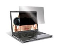 The Targus ASF154WUSZ 15.4 inch widescreen notebook privacy filter is designed to fit 15.4 inch widescreen laptops