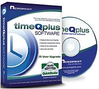 Acroprint 01-0254-101 timeQplus V3 Employees Upgrade - 25 Users