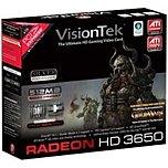 VisionTek 900232 ATI Radeon HD 3650 Video Card - 512 MB GDDR2 - PCI Express 2.0 x16 - DVI, HDTV