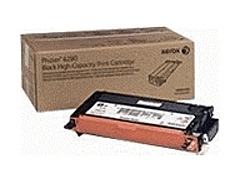 Xerox Black High Capacity Print Cartridge, Phaser 6280 for Phaser 6280 is specially formulated and tested to provide the best image quality and most reliable printing you can count on page after page