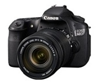 Canon EOS 4460B004 60D 18 Megapixels Digital SLR Camera - CMOS - 7.5x Optical Zoom - 3.0-inch LCD Display - Black