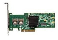 The eight port LSI MegaRAID SAS 9240 8i controller card allows small to medium business owners and gaming enthusiasts to enjoy the latest RAID 5 technology with low power consumption