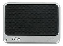 iGo AC05051-0001 Mobile Sound Pocket Speaker with Ultra Portable and 3.5 mm Output Jack - Black