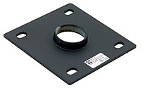 Chief Cma-115 6.0 X 6.0 Inches Ceiling Plate With 1.5-inch Npt Opening - Black