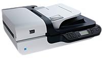 HP Scanjet L2703A N6350 Networked Document Flatbed Scanner - 2400 dpi - 15 ppm - Ethernet Hi-Speed USB 2.0