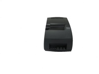 Ithaca 153SRJ11-BLACK Receipt/Journal/15-line Validation Monochrome Dot-matrix Printer - 9.5 lines/second - 24 cpi - Serial - AC 120/230V - Black