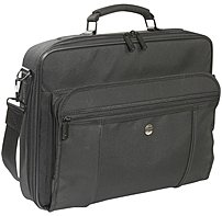 The Targus Premiere laptop Case has a padded laptop compartment designed to fit laptops with up to 15.4 inch screens
