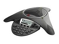 Polycom Soundstation IP 6000 2200-15660-001 SIP Conference VoIP Phone with AC Power Supply - LCD Screen - RJ-45