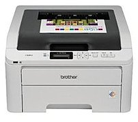 Brother Hl-3075cw Digital Led Color Printer - 19 Ppm, (b/w)/19 Ppm (color) - 600 Dpi X 2400 Dpi - Usb, 802.11b, Ethernet 10/100base-tx, 802.11g, Direct Print Usb - Ac 120v