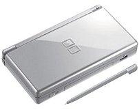 Nintendo USGSVB Portable Gaming System for Nintendo DS Lite - Metallic Silver