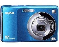 Sanyo VPC-S1415BL 14 Megapixels Digital Camera - 5x Optical Zoom - 3-inch Display - Blue