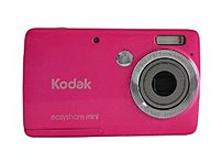 Kodak Easyshare Mini 1940642 M200 10.0 Megapixels Digital Camera - 3 X Optical Zoom/5x Digital Zoom - 2.5-inch Kcd Display - Pink