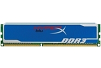 Kingston's 512M x 64 bit  4GB  DDR3 1333 CL9 SDRAM  Synchronous DRAM , 2Rx8 memory module, based on sixteen 256M x 8 bit FBGA components
