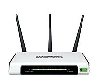 TP-LINK Wireless-N Wi-Fi Router Black TL-WR940N