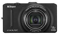 Nikon Coolpix 26315 S9300 16 Megapixels Digital Camera - 18x Optical/4x Digital Zoom - 3-inch LCD Display - Black