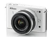 Nikon 1 27528 J1 10.1 Megapixels Mirrorless Digital Camera - 3x Optical Zoom - 3-inch LCD Display - White