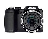 Sanyo Vpc-e2100bk 14 Megapixels Digital Camera - 21x Optical Zoom - 3-inch Lcd Display - Black