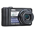 Sony Cyber-shot DSC-H55 14.1 Megapixels Digital Camera - 2x Digital Zoom - 10x Optical Zoom - 3-inch LCD Display - Rechargeable - Black DSC-H55/B DSC-H55/B