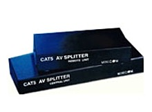 Cables To Go 0VS21007 External Category 5 AV Splitter Monitor Audio Extender