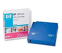 HP C7971A Data Cartridge - LTO Ultrium LTO-1 - 100 GB (Native)/200 GB (Compressed) - 1-Pack - Blue