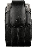 Hoffco 06-12032 Leather Carrying Case for Apple iPhone and RIM BlackBerry - Black