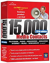 Summitsoft 00209 7 includes over 15,000 up to date media contacts from USA   Canada