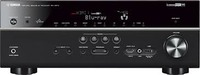 Yamaha RX-V673BL 7.2-Channel AV Receiver - Network Ready - 7.2 Channel - HDMI - 3D Ready - Upconverting - 90 Watts - Dolby TrueHD - DTS-HD Master Audio - Black