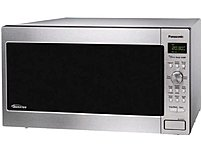 Panasonic NN SD762S 1250 Watts Microwave Oven 1.6 Cubic Feet Stainless Steel