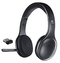 Logitech 981-000337 H800 Supra-aural Wireless Headset - USB - Black