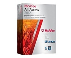 McAfee AAH12EMB5RAA All Access for PC/Mac - Security Suit...
