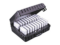 Perm-a-store 01-672900 Turtle LTO Tape Cart Storage Case - Black