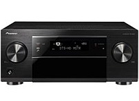Pioneer SC 1222 K SC 1222 7.2 Channel 600 Watts AV Network Receiver HDMI Network Ready Upconverting Black