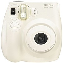 Fujifilm Instax Mini 16162434 7S Instant Film Camera - 60 mm - White