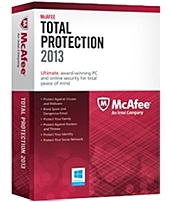McAfee Security MTP13EMB3RAA Total Protection 2013 for PC - 3 PC