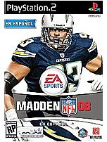 Sony 014633159059 Madden NFL 08 En Espanol for PlayStation 2 - Spanish